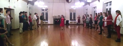 Fox Trot Lesson wiht Ballroom Dance @ Virginia Tech