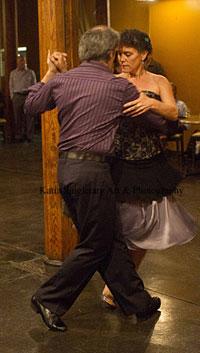 Karen dancing an Argentine Tango