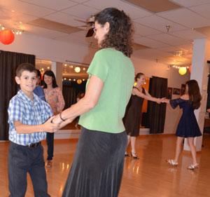 Junior Ballroom Dance Party