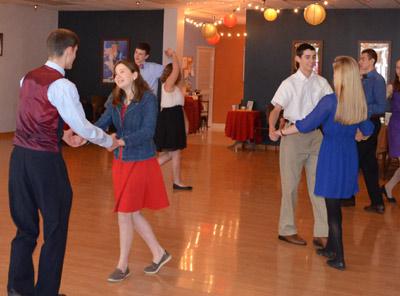 Junior Ballroom dancers