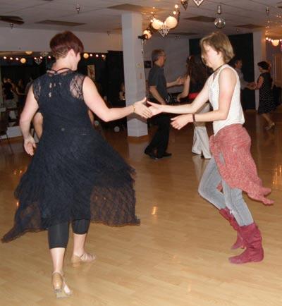 Jen and Katying Dancing Cha Cha