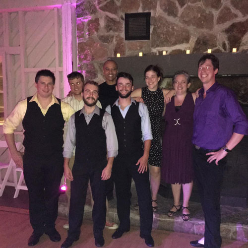 Sapphire's Dirty Dancing Crew - it changes every year, but they are always Debbi's Kids...