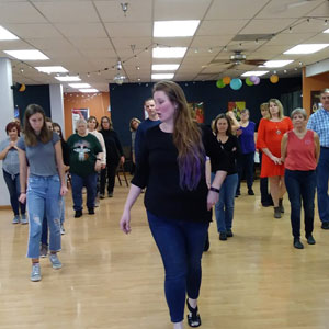 Line Dance Workshop, Feb 2020