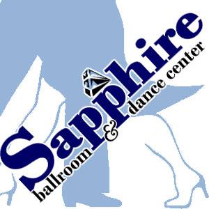 Sapphire Ballroom & Dance Center Logo