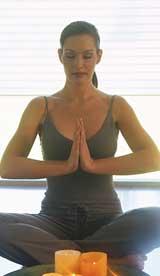 yoga lady